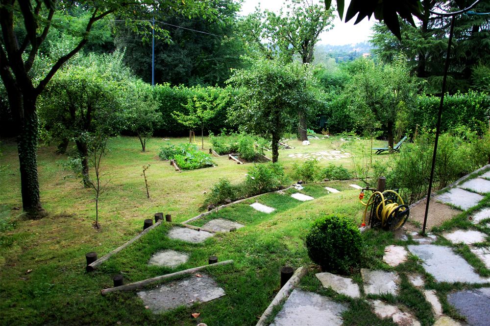 Progetto giardino in collina torinomarta carraro - Terrazzamenti giardino ...