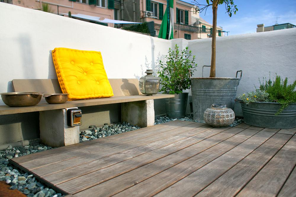 progettazione terrazzo Genova: MeccanoMarta Carraro